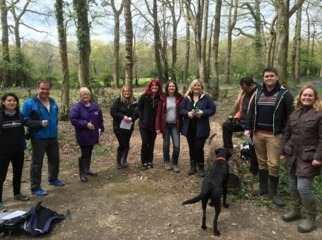 Photo of business owners networking at Oxted Netwalking, Surrey