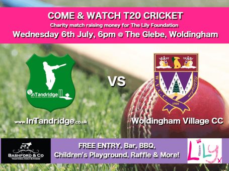 Promotion for InTandridge v Woldingham Village Cricket Club, July 2016, Surrey