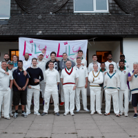 InTandridge and Woldingham Village Cricketers that played the Charity T20 Match raising money for The Lily Foundation