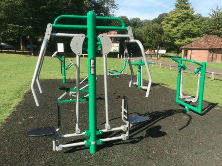 photo of Whyteleafe Outdoor Gym at Whyteleafe Recreation Ground, Surrey