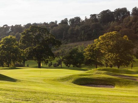 Green at Woldingham Golf Club, Surrey