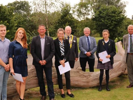Sporting Excellence Recognised by Caterham Rotary