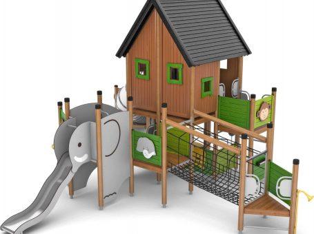 Mint Walk Play Area Park - new equipment