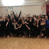 Strictly Come Dancing's Shirley Ballas visits Caterham Dance School