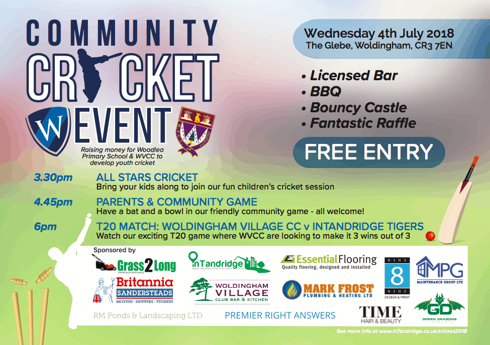 Woldingham Cricket Club Community Cricket Event