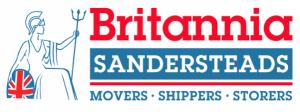 Britannia Sandersteads logo. House Removals, Storage, Office Removals Surrey