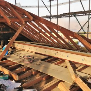 Roofing work by Cameron Building & Landscaping Services