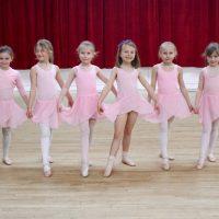 children's ballet class at Surrey Dance School