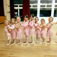 Children's ballet class at Surrey Dance School in Oxted / Limpsfield