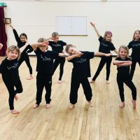 Children's Funky Feet squad at Surrey Dance School