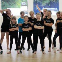 One of Surrey Dance School's Funky Feet dance classes