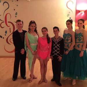ballroom & latin dancers at Caterham Dance School