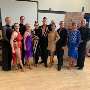 ballroom and latin dancers from Caterham Dance School