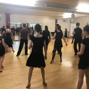 ballroom and latin dance class at Caterham Dance School