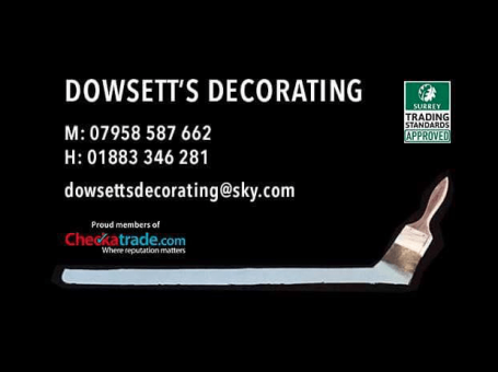 Dowsett's Decorating