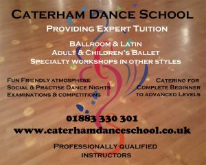 Ballroom and latin dance classes in Caterham