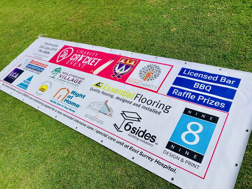 inTandridge Charity Cricket Banner