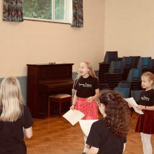 Singing at Surrey Drama School